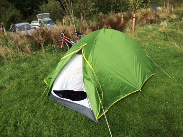 My pokey wee tent from Decathlon